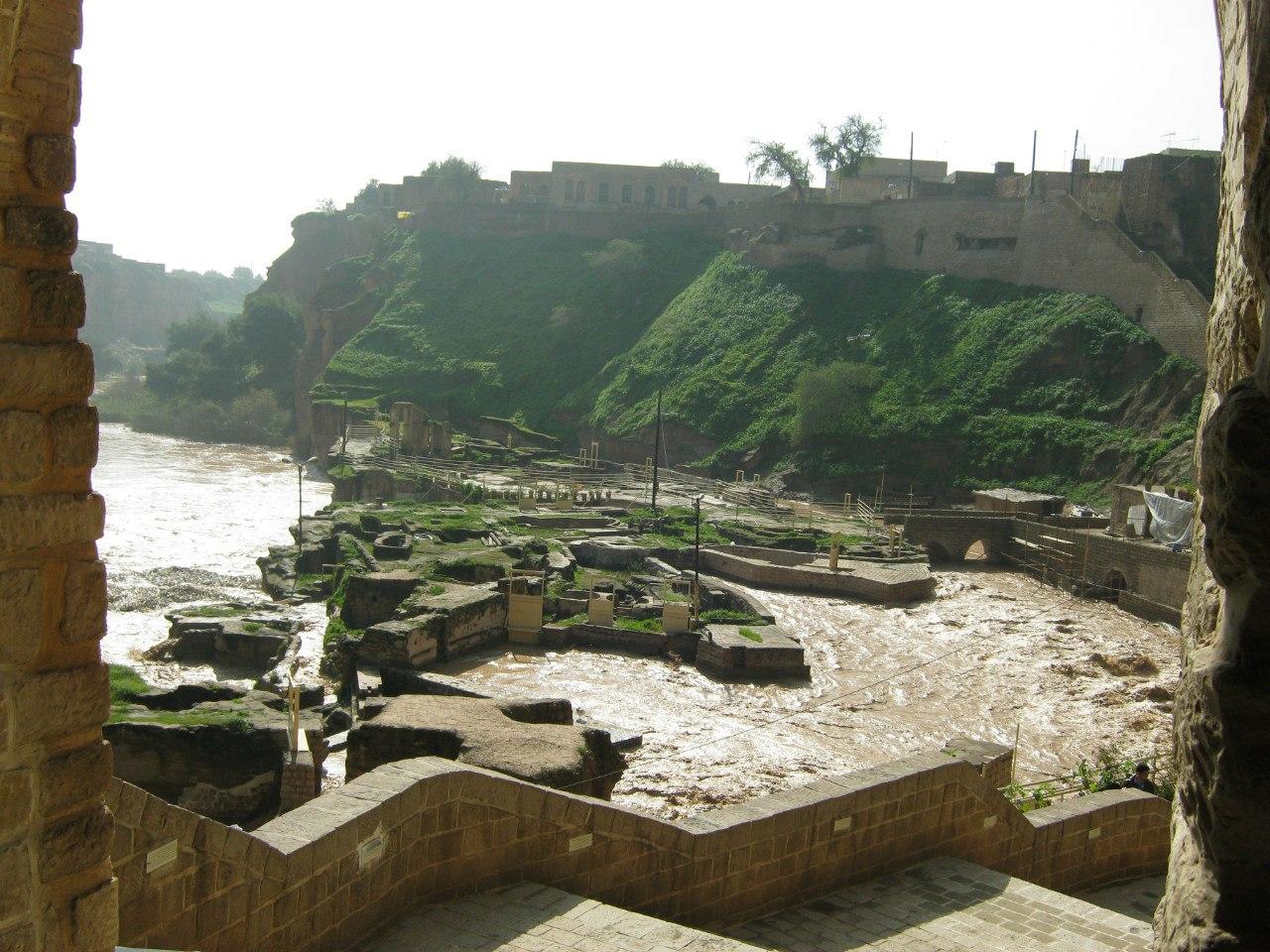 водопадно-мельничный комплекс в Шуштар