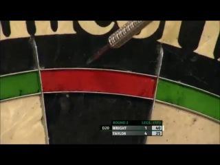 Peter Wright vs Phil Taylor (Players Championship Finals 2013 / Round 2)