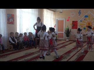 """Танец в детском саду """"Катюша"""" Муз. рук-ль: Абросимова Марина Александровна"""