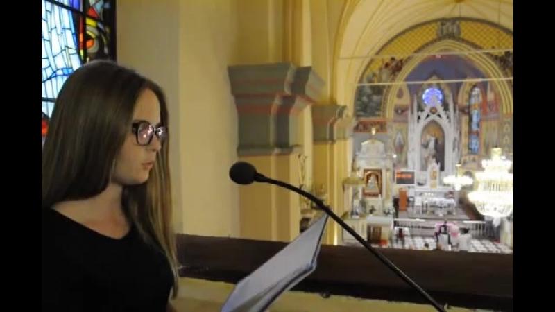 Psalm 34 ślubny Oliwia Traczyk oprawa wokalna ślubu
