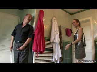 Sullivan(Guy's Dad Pretends to Leave and Hides in Bathroom/Дочь трахается с отцом парня в туалете)[Group-Инце