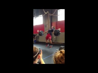 CrossFit - Rich Froning Snatches 300 Pounds