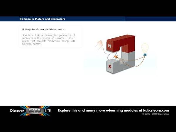 Homopolar Motors and Generators Steorn Rotating Electromagnetic Systems