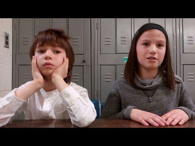 Дети Билингвы Интервью с молодыми американцами Лиза 11 лет Саша 9 лет