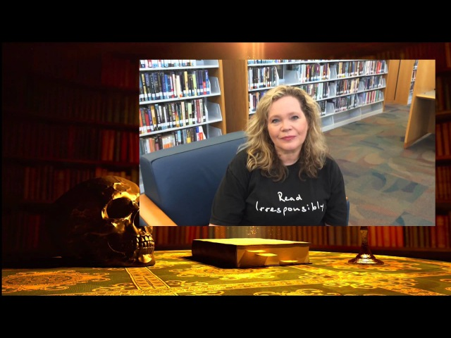 Ink and Bone Vlog3 The Library Continues an interview with librarian Marianne Follis