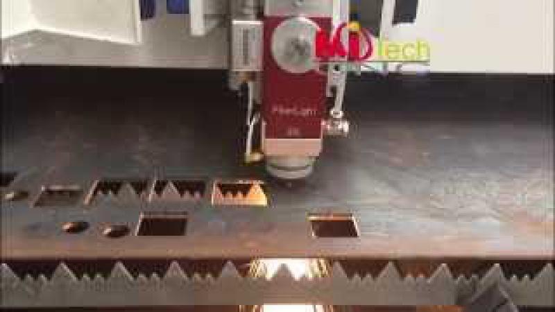 MITECH fiber laser cutting machine fiber laser cutting