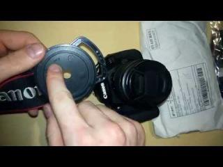Обзор посылки 17: Дефлектор бокового зеркала автомобиля; держатель крыжки объектива