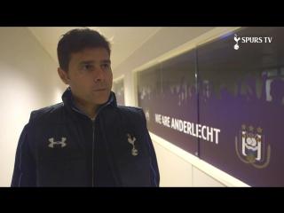 Маурисио Почеттино перед матчем против «Андерлехта»