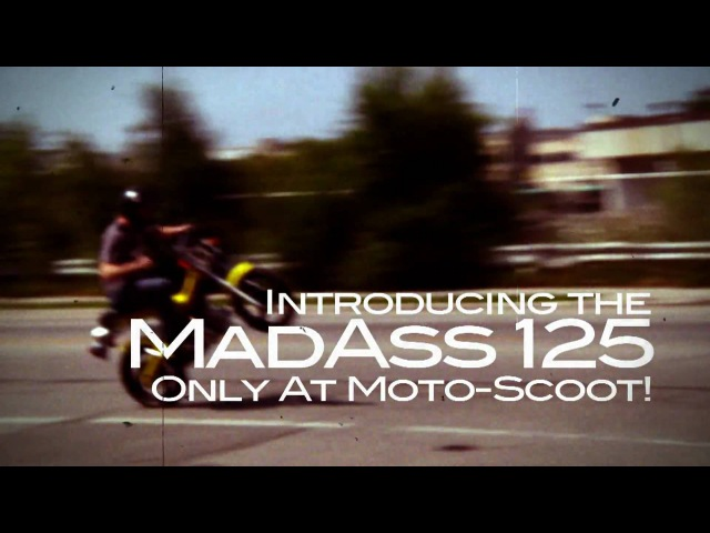 Sachs MadAss 125 Promo Moto Scoot Milwaukee