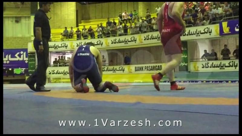 Hadi ghasemi trial125kg