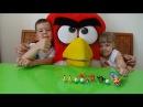 Энгри бердс мультфильм новые серии 2016 распаковка киндер сюрприз Angry Birds
