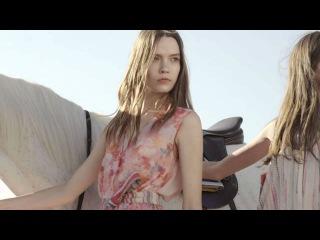 Taya Ermoshkina for BСBG Spring 2015 RUNWAY Ad Campaign