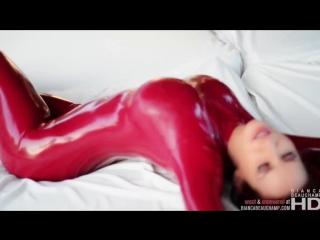 Sexy Girl ∞ Секси девушка красивая фигура в латексе упругая попка сочные сиськи Sexy girl latex fetish hot ass tits leggins anal