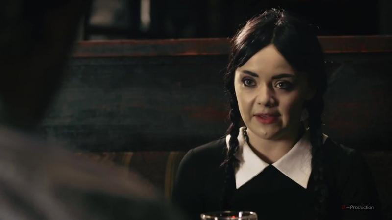 Взрослая Уэнсдей Аддамс Первое свидание Adult Wednesday Addams S1 E3 Internet Date LE Production