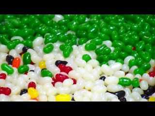 Как изготавливают фруктовые желейные конфеты Jelly belly (Джелли Белли) ?