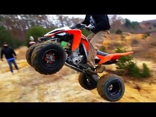 Fail Crash Yamaha Raptor - ATV quad compilation 2015 #2
