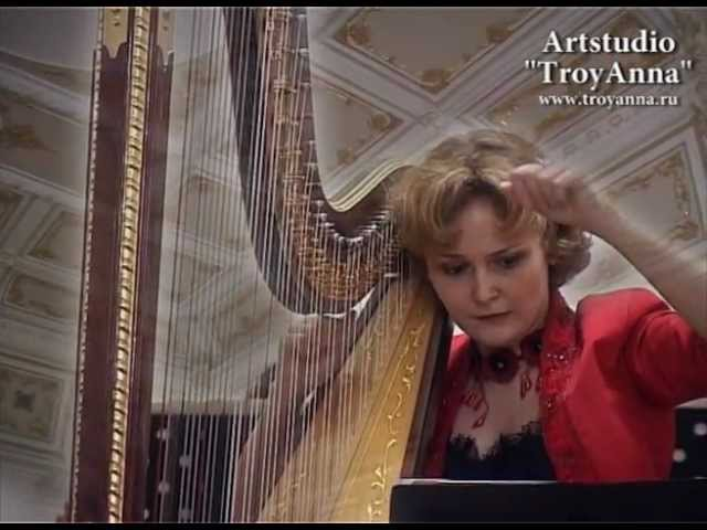Elizabeth ALEXANDROVA Concerto for harp and orchestra Artstudio TroyAnna
