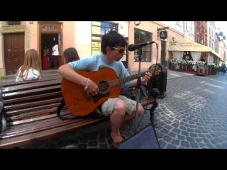 Lviv street musicion 017 Ярослав (Доктор Морфей) ч.2