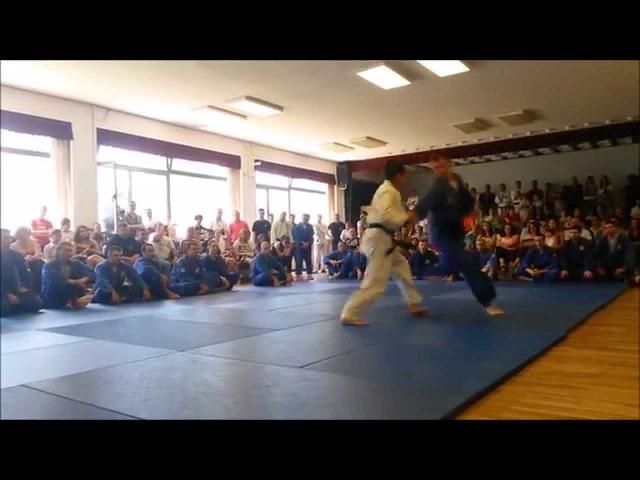 Realni Aikido - Polaganje za majstorska zvanja (Aleksandra Mačkić)
