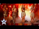 Zyrah Rose set fire to the stage with Adele hit | Semi-Final 3 | Britain's Got Talent 2016
