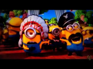 the minions and alsa Jazz up the finger family song