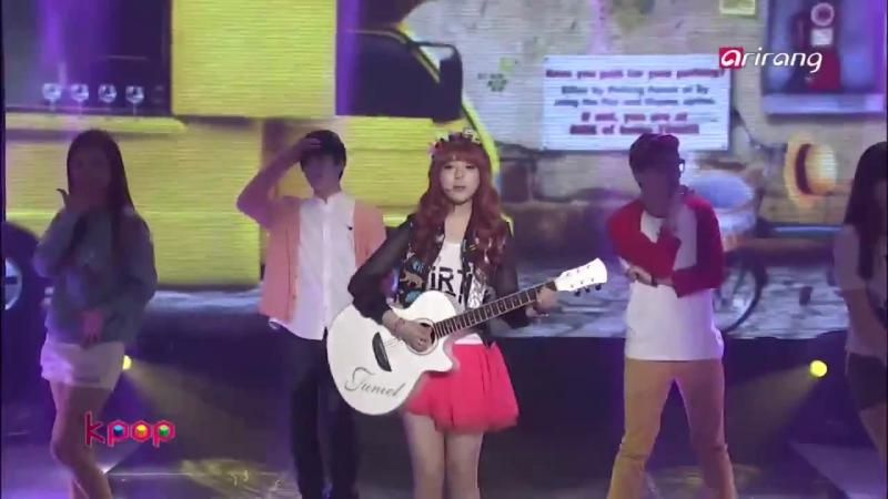 Предебют Чжиан Live HD 130604 주니엘 귀여운 남자 Pretty Boy @ Arirang Simply K Pop