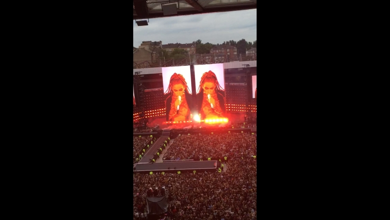 Don't hurt yourself Beyonce Formation World Tour Glasgow UK