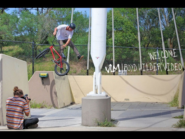 VOLUME BMX Boyd Hilders Welcome Video