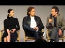 Outlander Cast - NYC - 4/6/16 Sam Heughan, Caitriona Balfe, Tobias Menzies