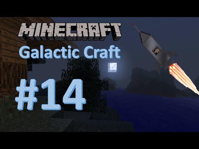 Minecraft Galactic Craft 14 Гиперскоростная печь