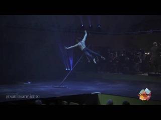 El canario Saulo Sarmiento, campeón del mundo de Pole Art