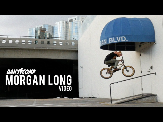 Dan's Comp Morgan Long Creative BMX Riding in SoCal