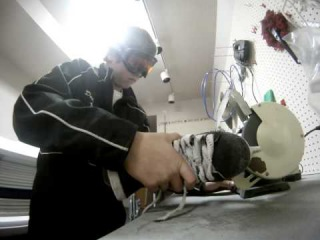 Sharpening Skates