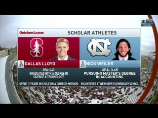 NCAAF 2016 / Sun Bowl / (18) Stanford Cardinal - North Carolina Tar Heels /  / EN