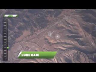 ШОК : Американец Люк Айкинс прыгнул с 7.5 км без парашюта на на сетку.