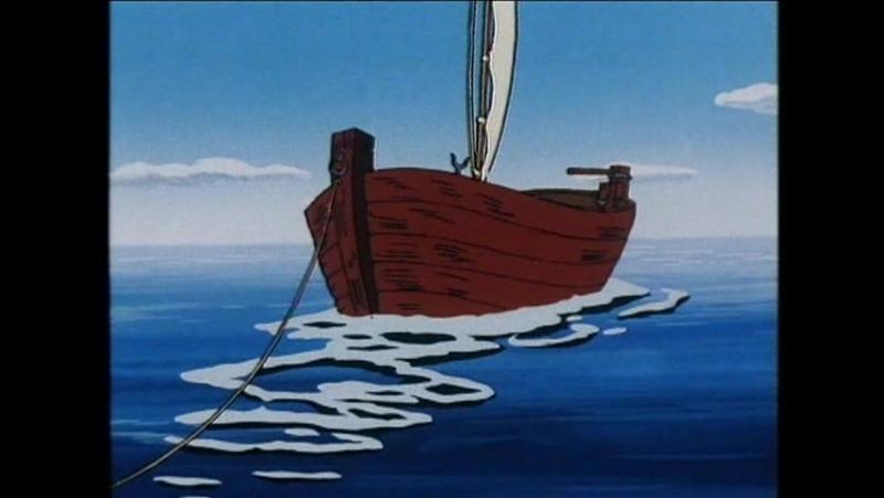 Mumin 03 Båten På Stranden