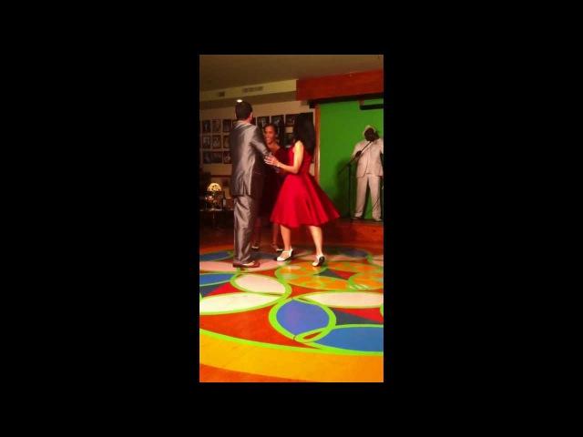 December 2012 El Club De Los Soneros opening party Yoel Akiko Monica