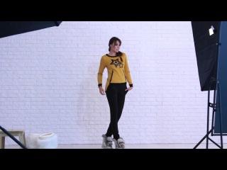 Стильный спортивный костюм со звездами от Vision fs Видео обзор