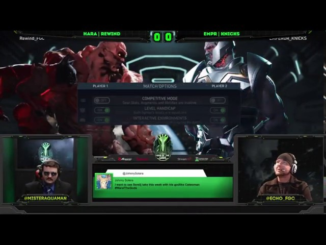 Injustice 2 War Of The Gods Week 4 Top 8 ft Semiij WoundCowboy ILuusions and more
