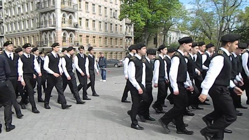 марш 9 мая МКТФ ОНМА