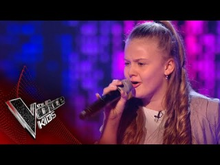 Jess F performs 'Ain't Got Far to Go': Blinds 2 | The Voice Kids UK 2017