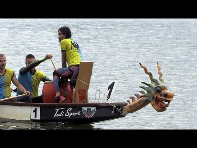 У Житомирі пройшли змагання з веслування на човнах – драконах присвячені пам'я...
