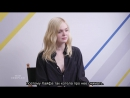 Elle Fanning, Douglas Booth, and Bel Powley on Mary Shelley at TIFF rus sub