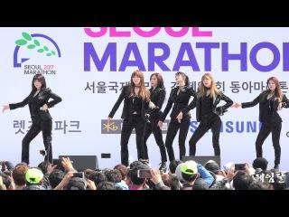 [Fancam] 170319 Hello Venus - Mysterious @ Seoul International Marathon