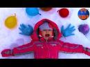 Замораживаем Шарики ОРБИЗ в шариках с водой ОГРОМНЫЙ ШАР Видео для детей ORBEEZ for kids