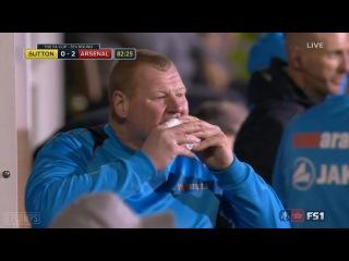 Wayne Shaw vs Arsenal