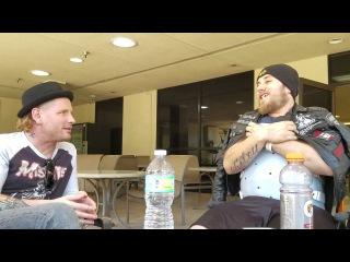Corey Taylor of Stone Sour / Slipknot Visits Paralyzed Fan in Hospital