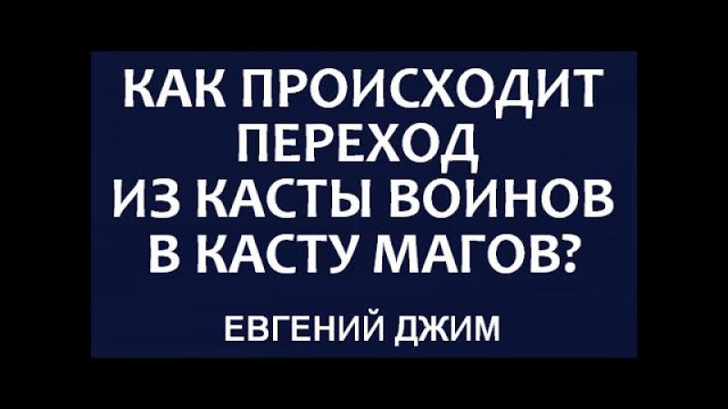 4 Касты Как происходит переход из касты воинов в касту Магов Евгений Джим