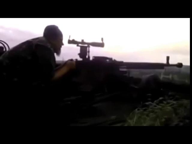 Сепары в шоке Снайпер работает из ДШК