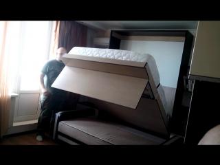 двуспальная кровать в стене, шкаф кровать, подъемная кровать ростов на дону